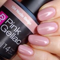 Pink Gellac nagelbehandeling